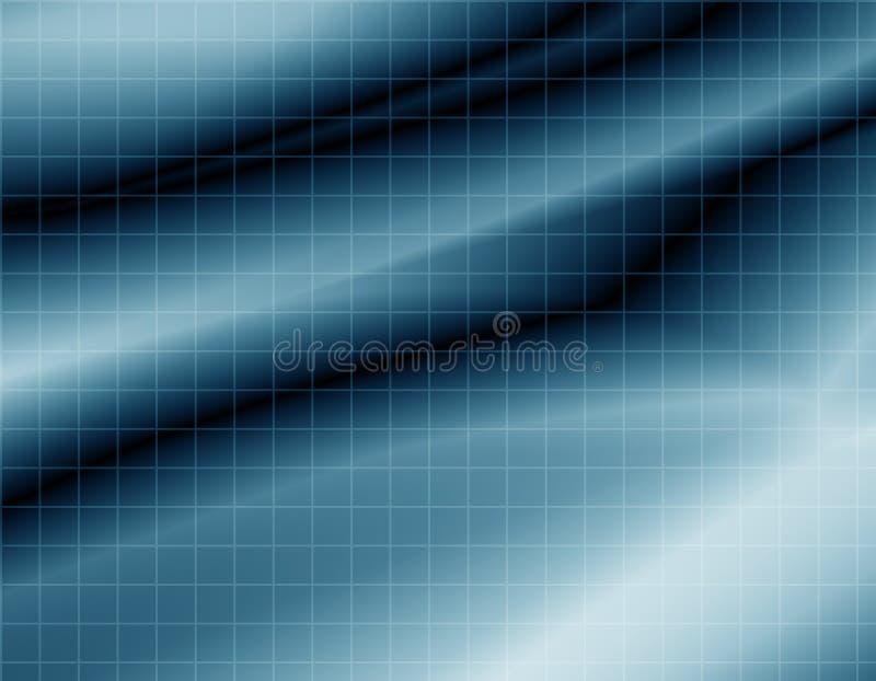 Papel de parede do fundo do Web da grade ilustração royalty free