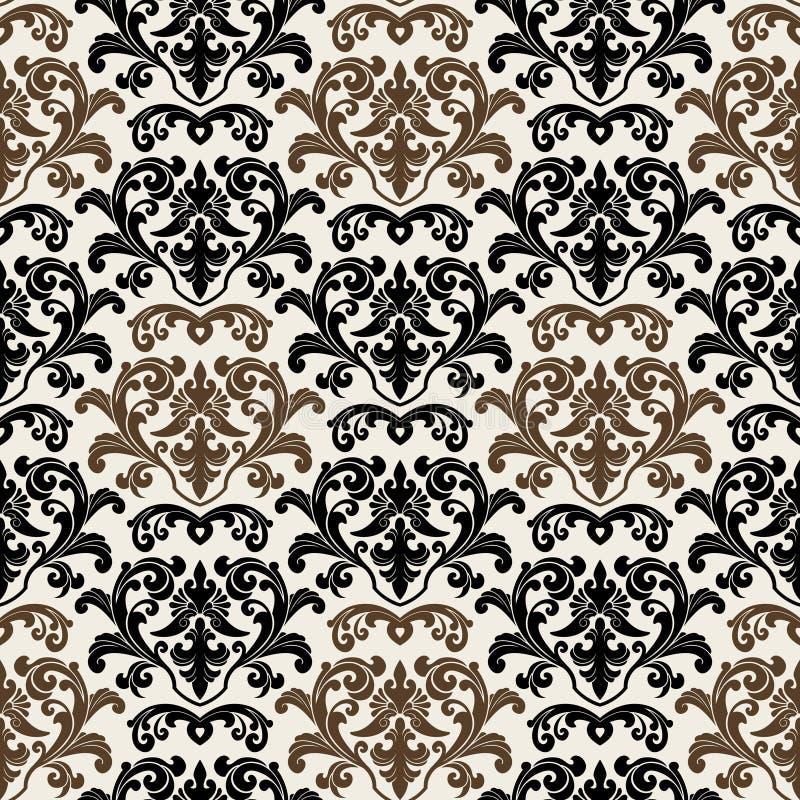 Papel de parede floral imagem de stock