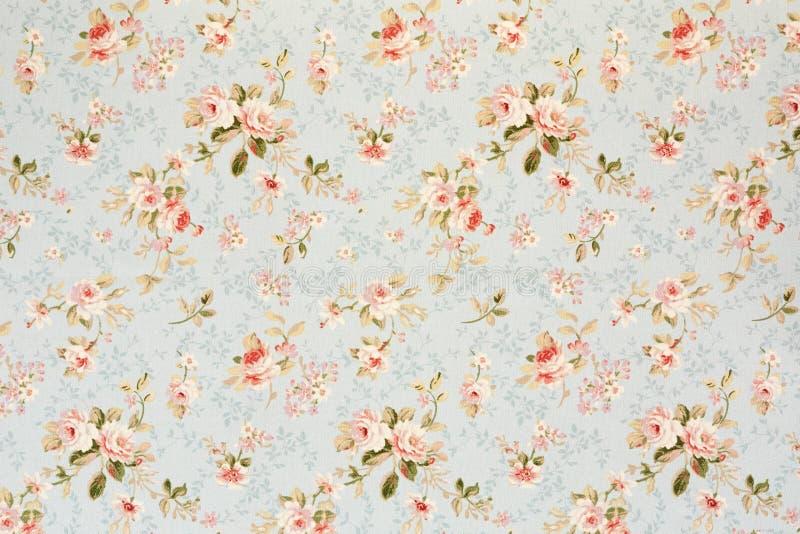 Papel de parede floral da tapeçaria de Rosa imagem de stock royalty free