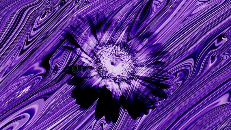 Papel de parede floral da textura dos raios medullary do sunmica de madeira ilustração royalty free