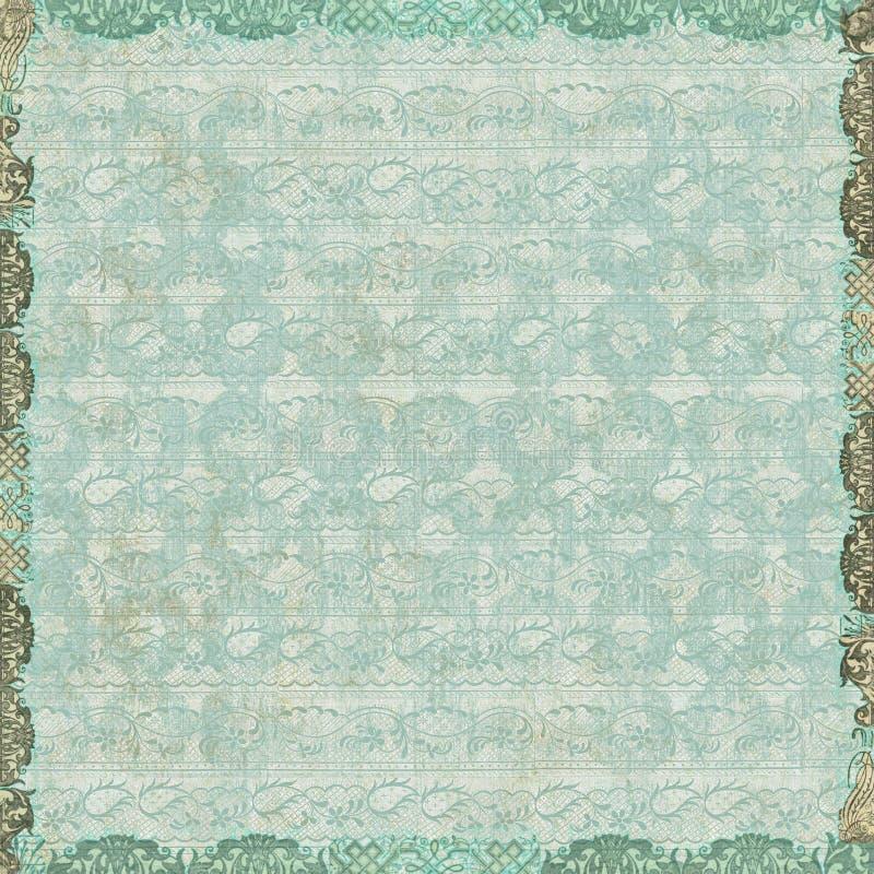 Papel de parede floral do vintage imagens de stock