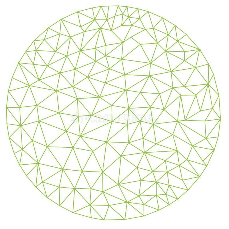 Papel de parede gráfico geométrico do sumário do projeto da ilustração do vetor do fundo do teste padrão da tela da telha da tamp ilustração stock