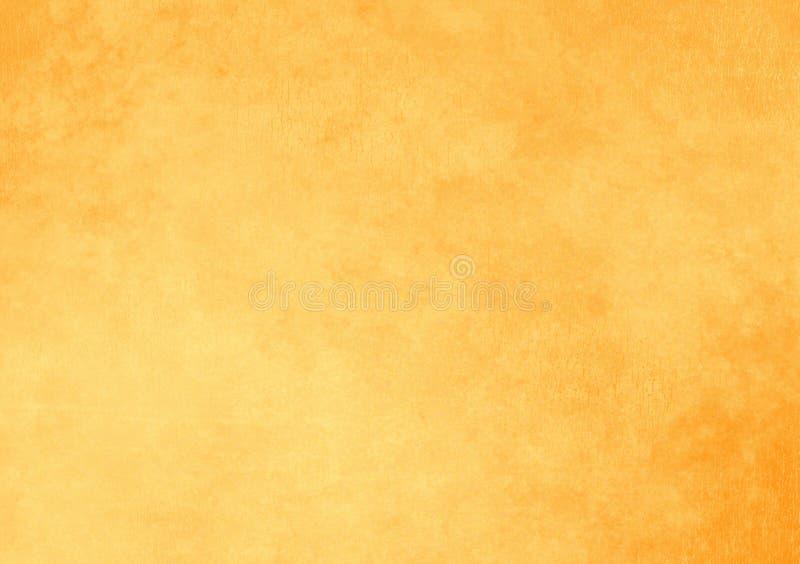 Papel de parede liso textured do fundo do amarelo foto de stock royalty free