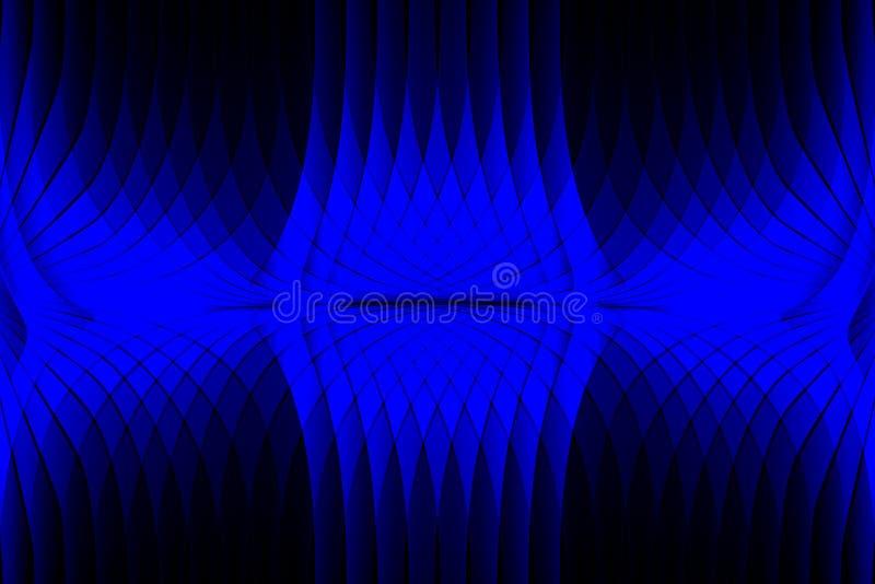 Papel de parede ondulado protegido colorido do fundo do vetor do sum?rio ilustra??o v?vida do vetor da cor ilustração do vetor