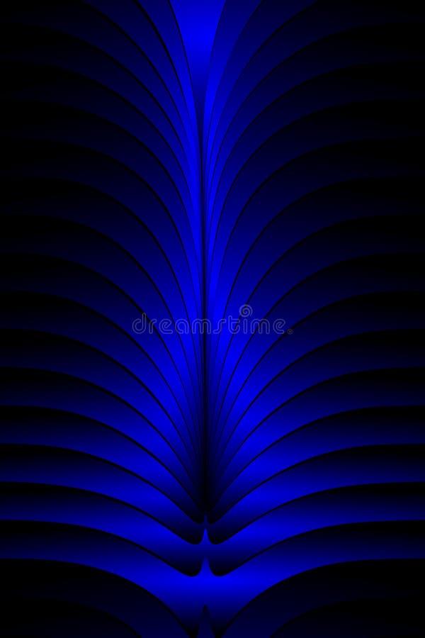 Papel de parede ondulado protegido colorido do fundo do vetor do sum?rio ilustra??o v?vida do vetor da cor ilustração stock