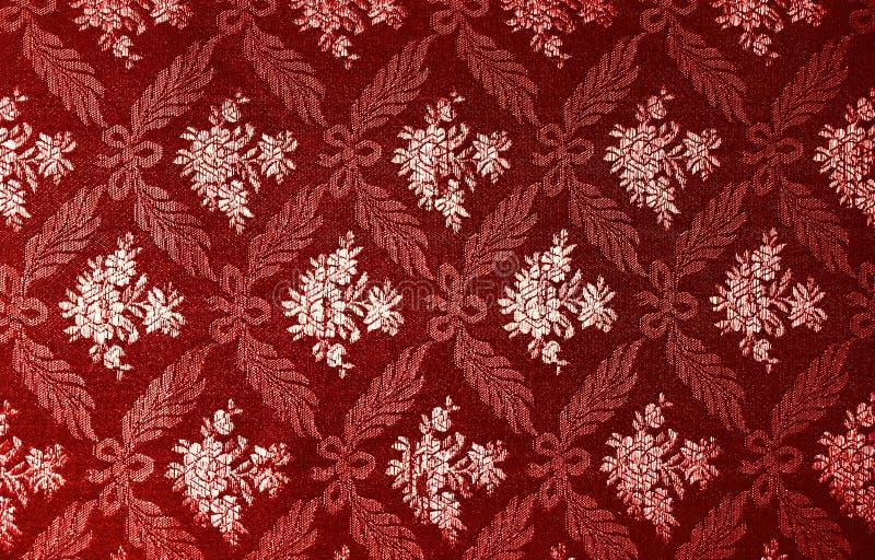 Papel de parede retro floral imagem de stock