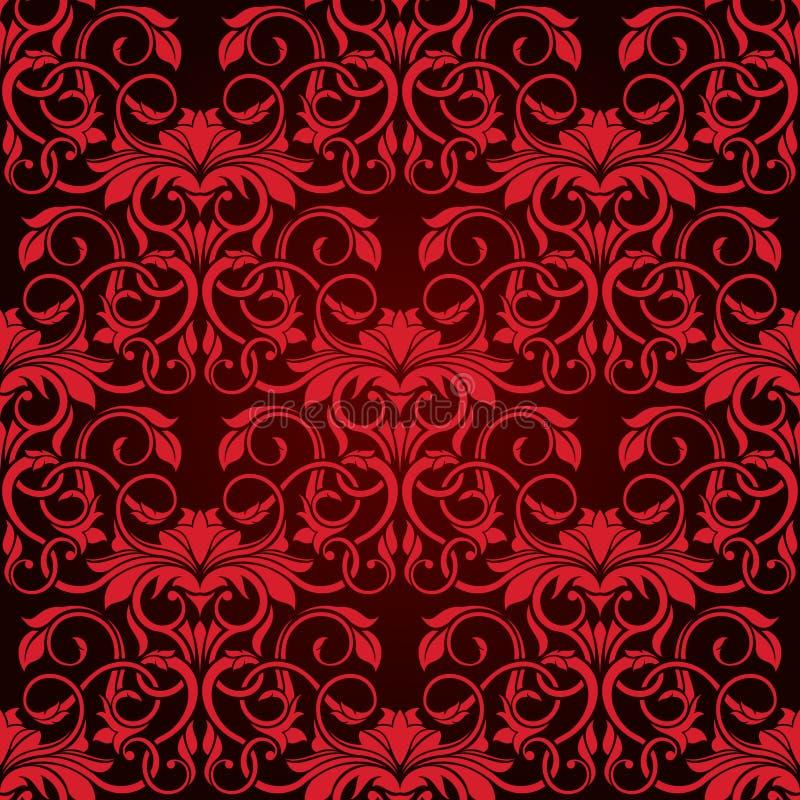 Download Papel De Parede Sem Emenda Vermelho Ilustração do Vetor - Ilustração de pattern, ilustração: 12809282