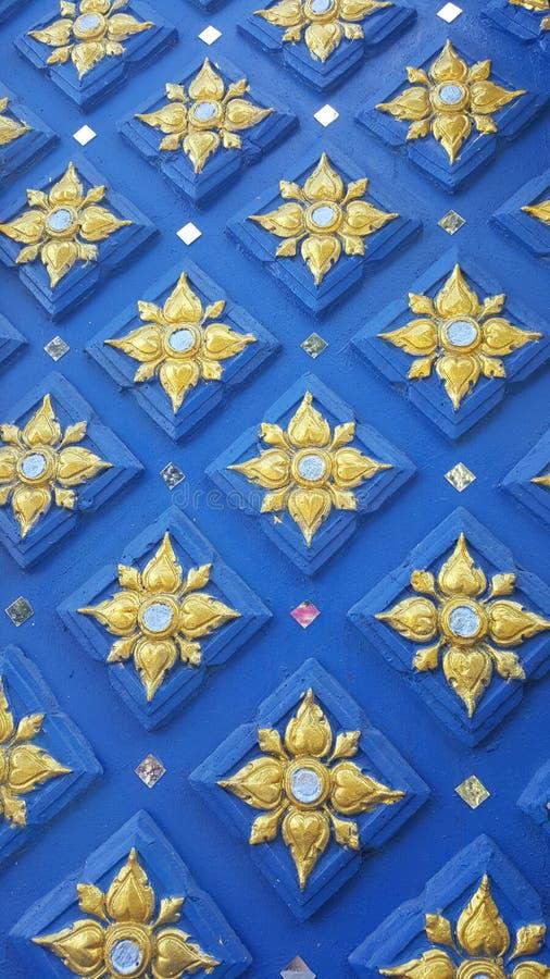 Papel de parede tailandês imagens de stock