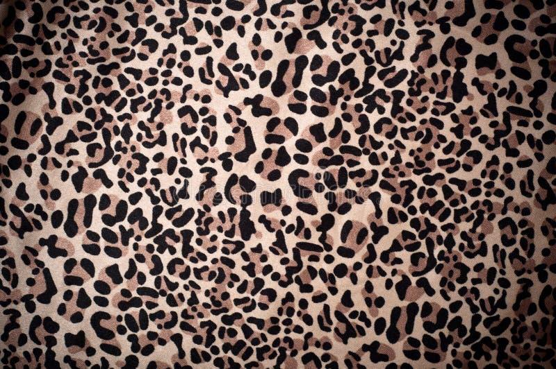 Papel de parede textured do leopardo pele decorativa ilustração stock