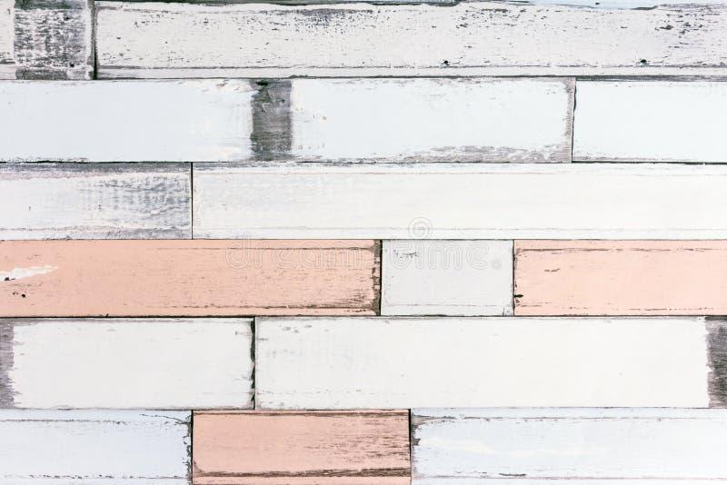 Papel de parede velho da madeira da cor imagens de stock