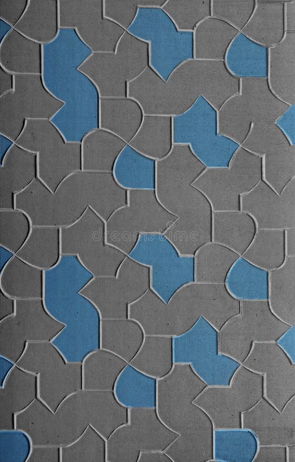 Papel de parede de vidro ilustração do vetor