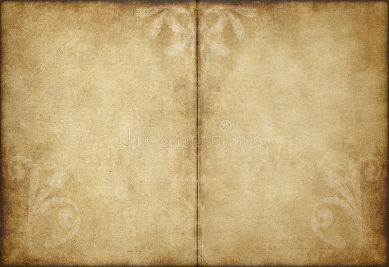 Papel de pergaminho velho ilustração stock