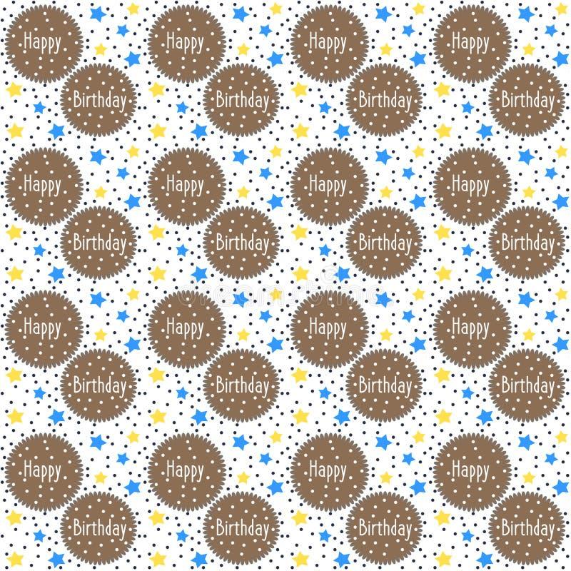 Papel decorativo do anivers rio ilustra o stock ilustra o de estrelas colorido 56360917 - Papel autoadhesivo decorativo ...