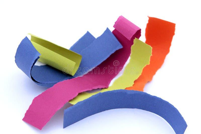 Papel del color fotografía de archivo