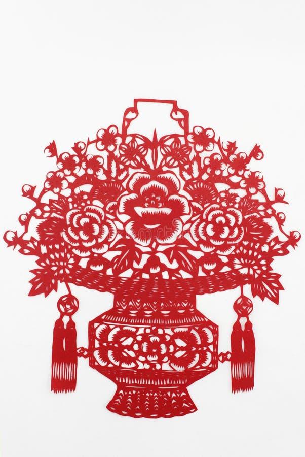 Papel del corte de China a mano imagen de archivo libre de regalías