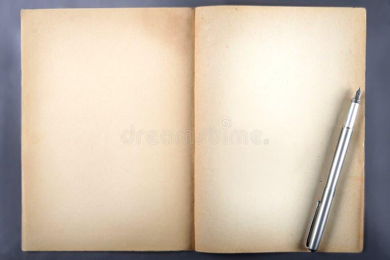Papel del libro viejo fotografía de archivo
