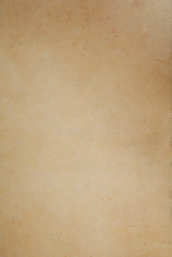 Papel del papiro foto de archivo libre de regalías