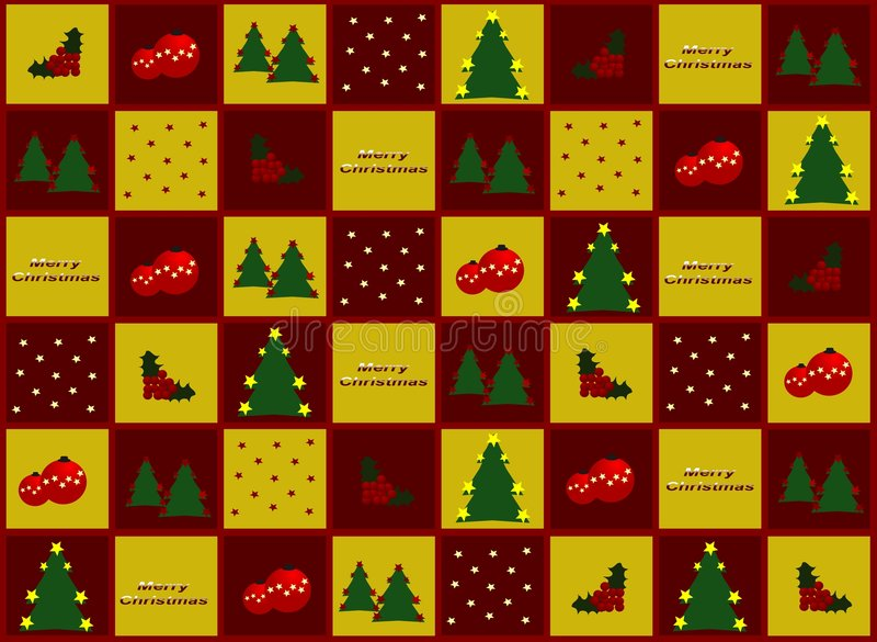 Papel del regalo de la Navidad libre illustration