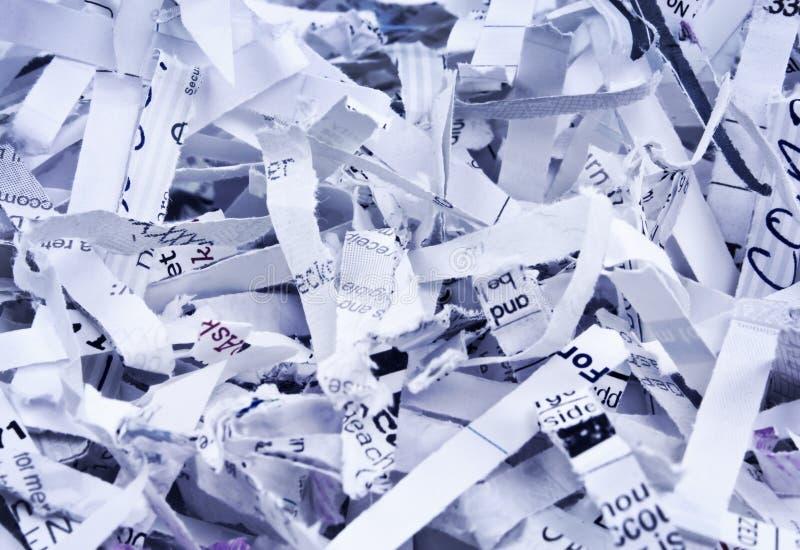 Papel destrozado foto de archivo libre de regalías