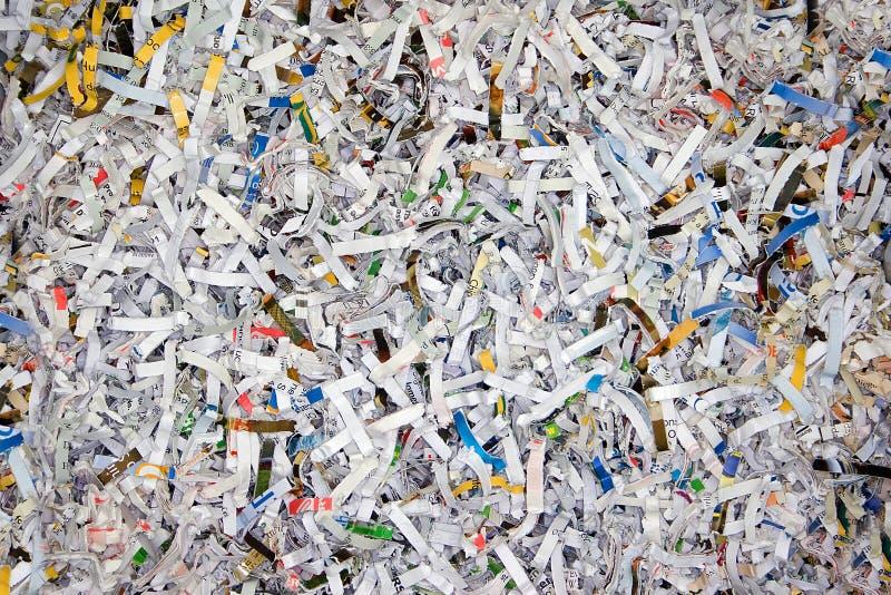Papel destrozado imágenes de archivo libres de regalías