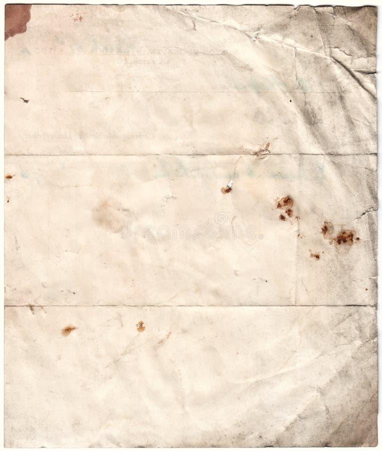 Papel deteriorado antiguidade (inc CLI imagens de stock