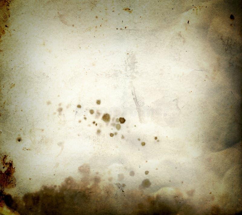 Papel do grunge da queimadura fotos de stock