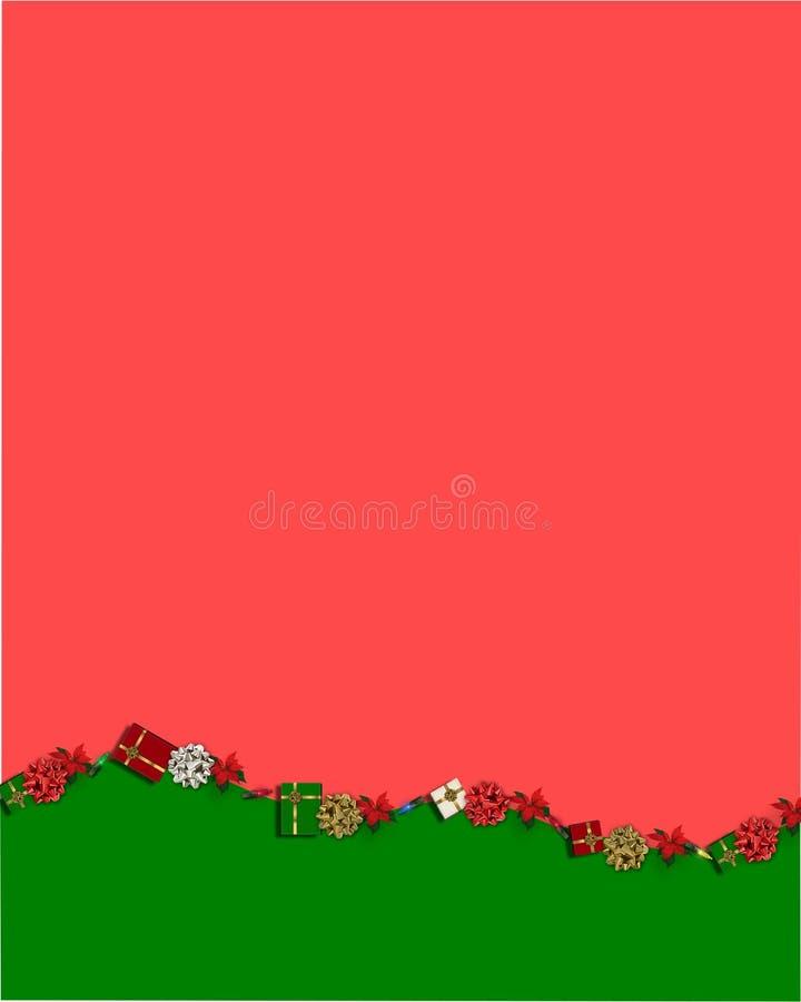 Papel Do Natal Foto de Stock