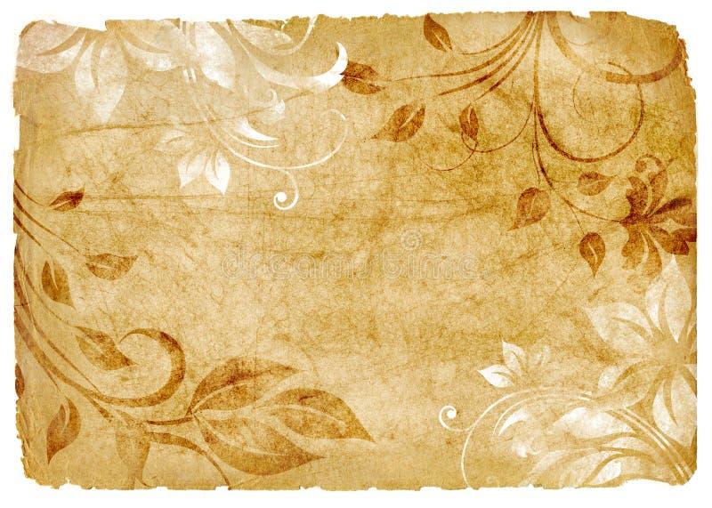 Papel do vintage ilustração royalty free