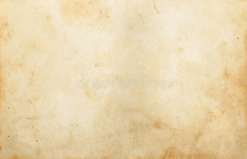 Papel em branco do vintage imagens de stock