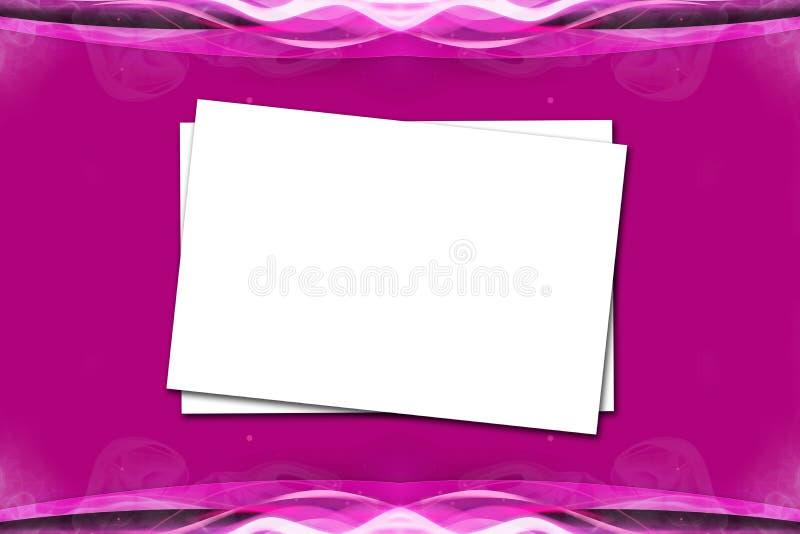 Papel em Violet Pink Background imagem de stock royalty free