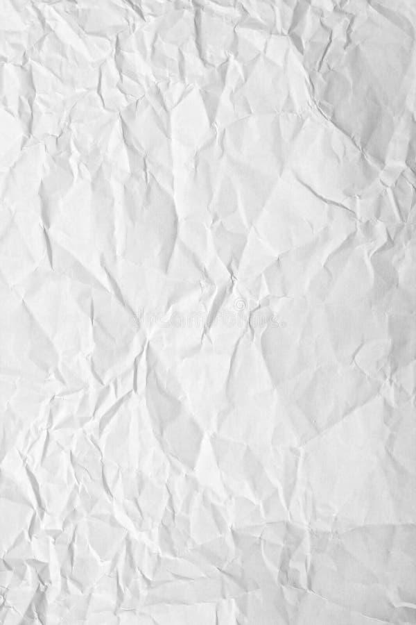 Papel enrugado imagem de stock
