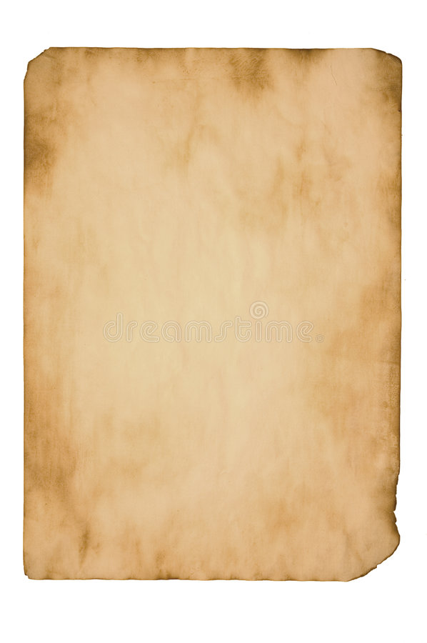 Papel envejecido stock de ilustración