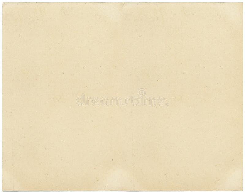 Papel envejecido imagen de archivo libre de regalías