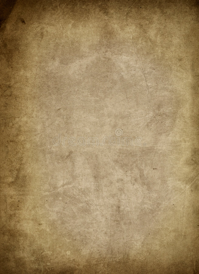 Papel envejecido del grunge ilustración del vector