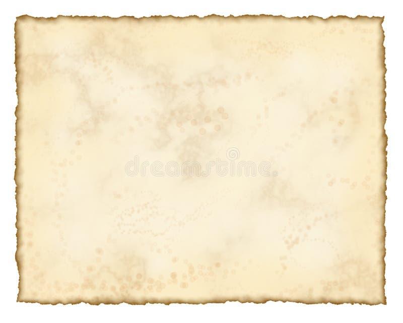 Papel envelhecido ilustração royalty free