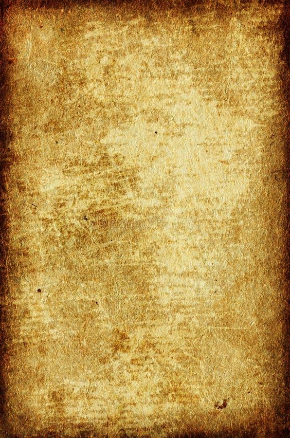 Papel envelhecido com beira ilustração royalty free