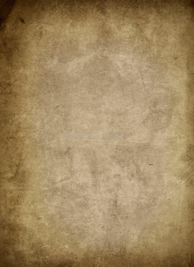 Papel envelhecido do grunge ilustração do vetor