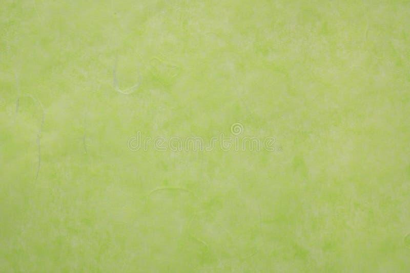 Papel etéreo japonés verde imágenes de archivo libres de regalías