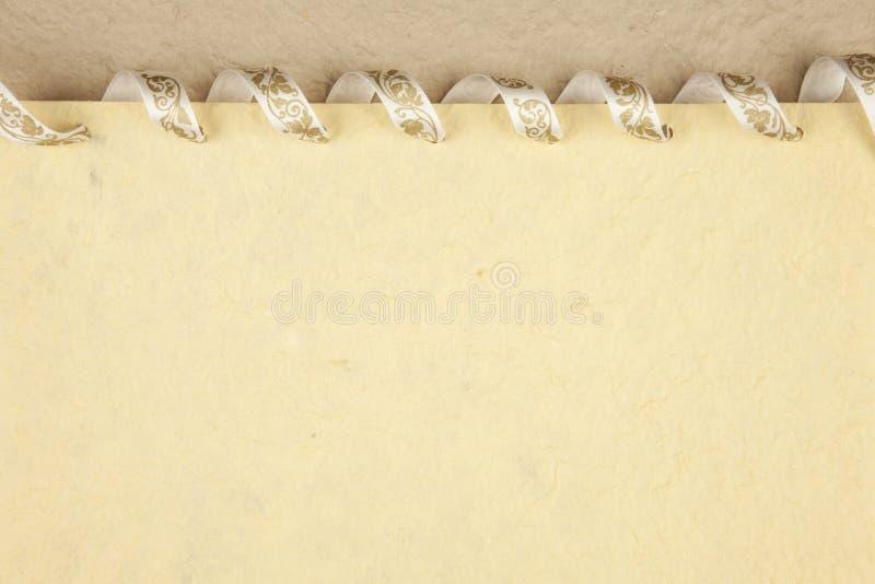 Papel Handmade fotografia de stock