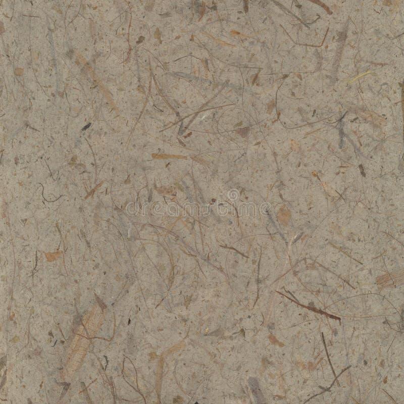 Papel hecho a mano del papiro con el fondo de las fibras fotos de archivo