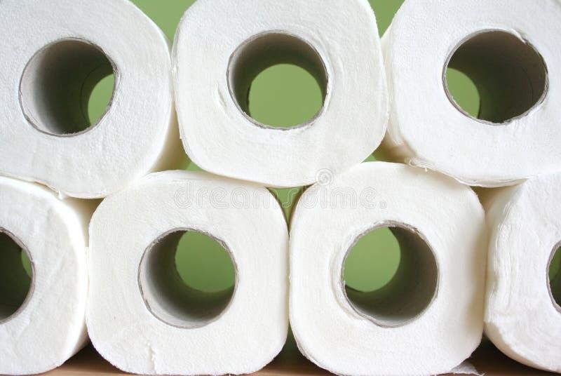 Papel higiénico imágenes de archivo libres de regalías