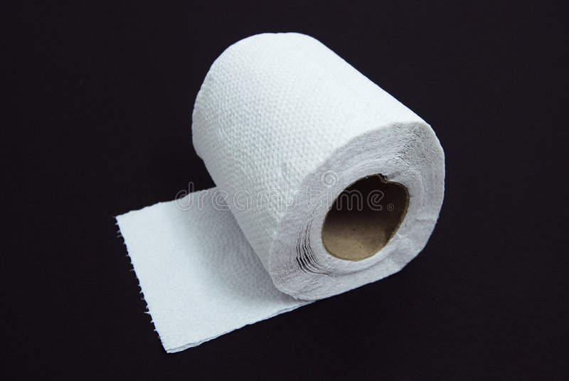 Papel higiénico imagen de archivo