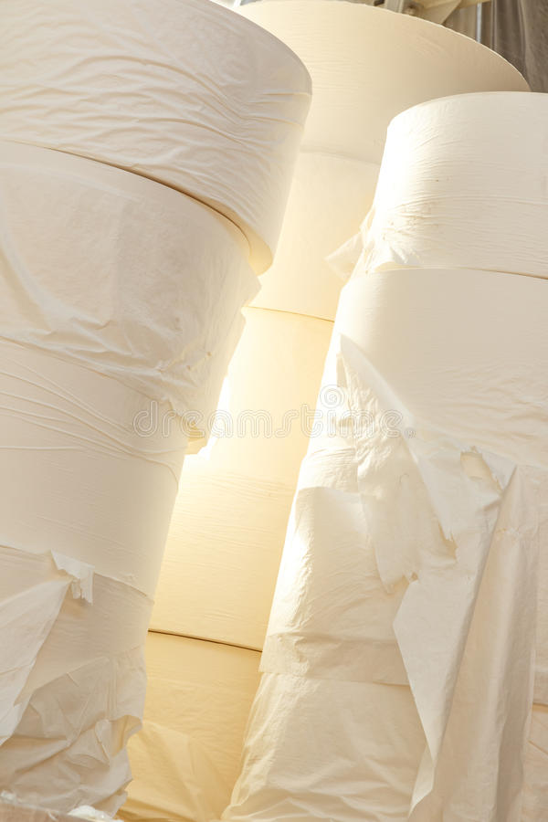 Papel higiénico Rolls foto de stock royalty free