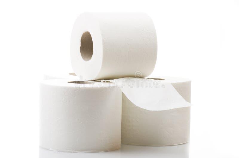 Papel higiênico foto de stock