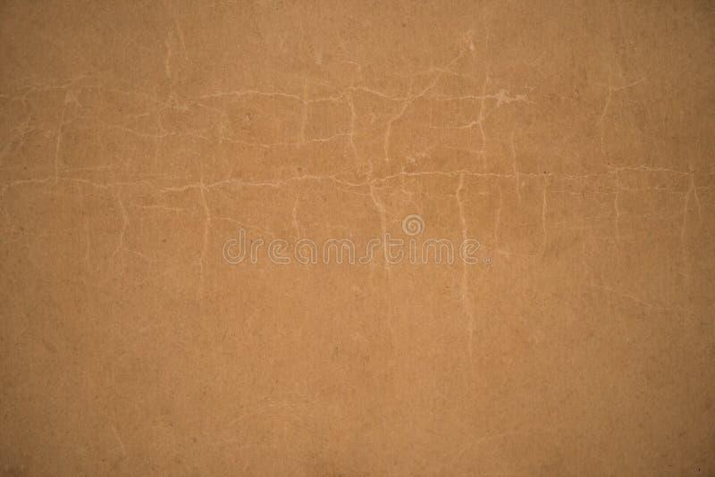 Papel marrón antiguo o viejo fondo de papel del vintage imagen de archivo libre de regalías