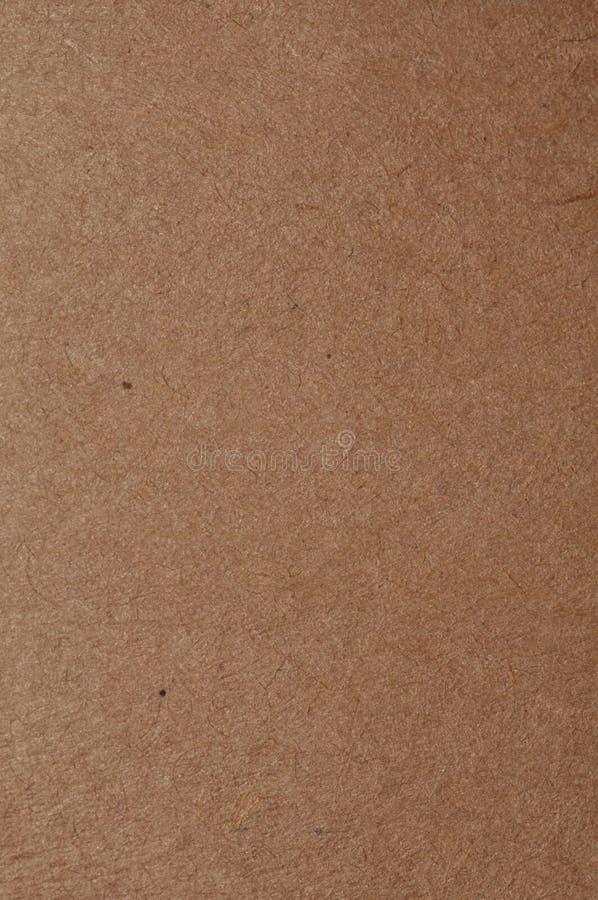 Papel marrón Textured fotografía de archivo libre de regalías
