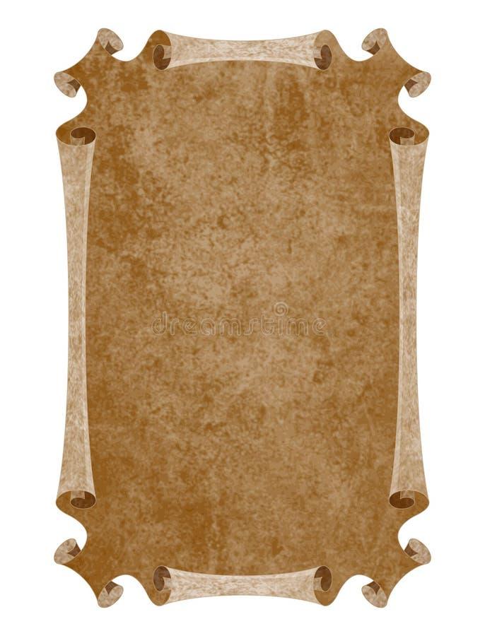 Papel medieval foto de archivo libre de regalías