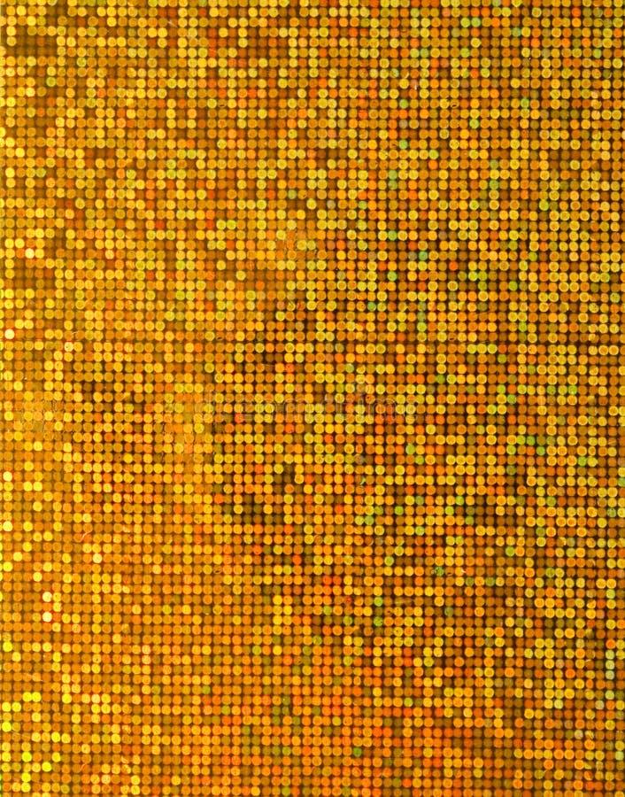 Papel metálico do ouro foto de stock