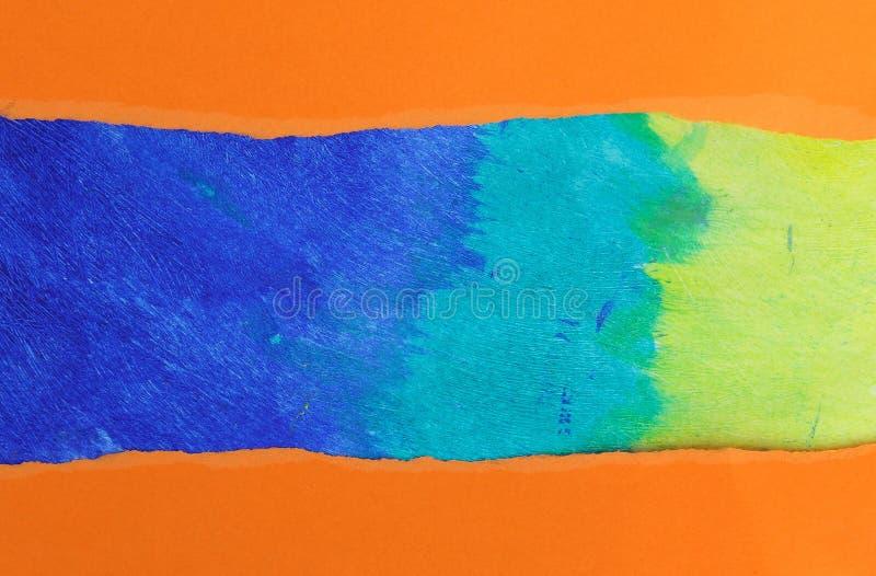 Papel multicolor fotos de archivo libres de regalías