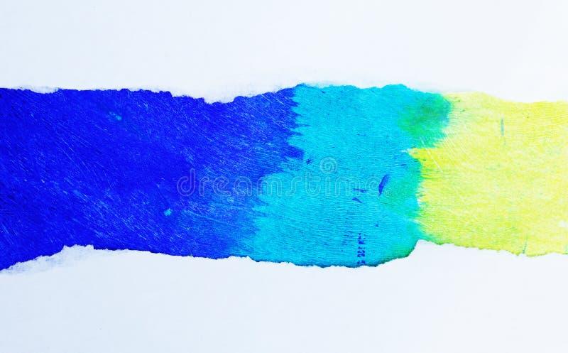 Papel multicolor foto de archivo libre de regalías